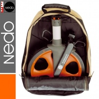 NEDO Professional Measuring Wheel (1.0 m circumference), with a rucksack