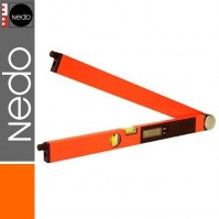 Nedo Winkeltronic Easy 600 mm Electronic Angle Measurer, with 2 laser modules