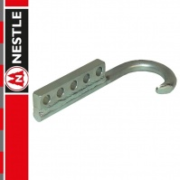 NESTLE Hook, round, curved - side, for manhole cover lifter