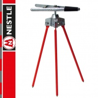 NESTLE Ranging Pole Support, with a jaw clamp, 27cm