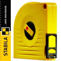 Stabila BM 50 Tape Measure fibreglass/steel, retractable, 10 m