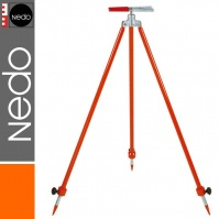 Ranging Pole Support Tripod, jaw clamp, telescopic legs