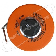 RICHTER Measuring Tape 20 m, steel, polished