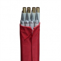 Folding Ranging Poles - set of 8 (4x2m), in a pouch